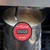 Steaming up the egg nog.