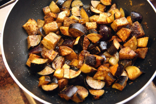 Eggplant & Tomato Stew