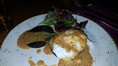 Black Pudding & Egg