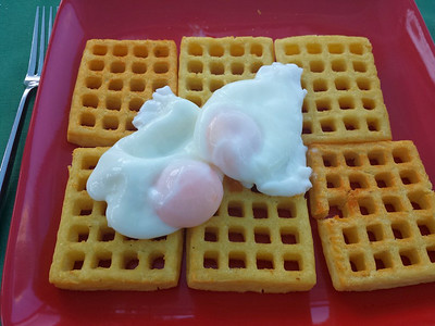 Poached Eggs - homecooked  20/07/14