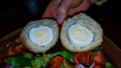 Pork & Cranberry Scotch Egg