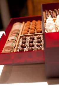 17 different types of chocolates.