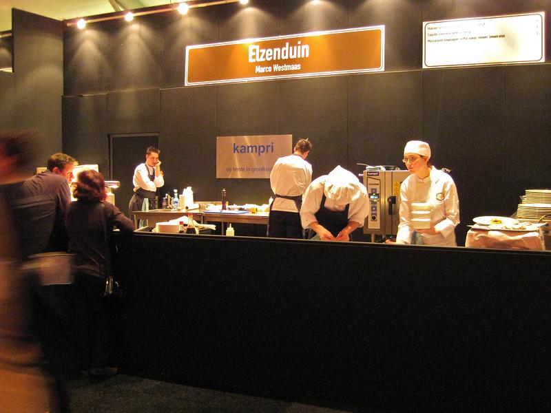 "Mobile kitchen for restaurant ""Elzenduin"""