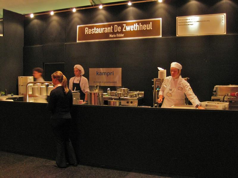 """Mobile kitchen for restaurant """"de Zwethheul"""""""