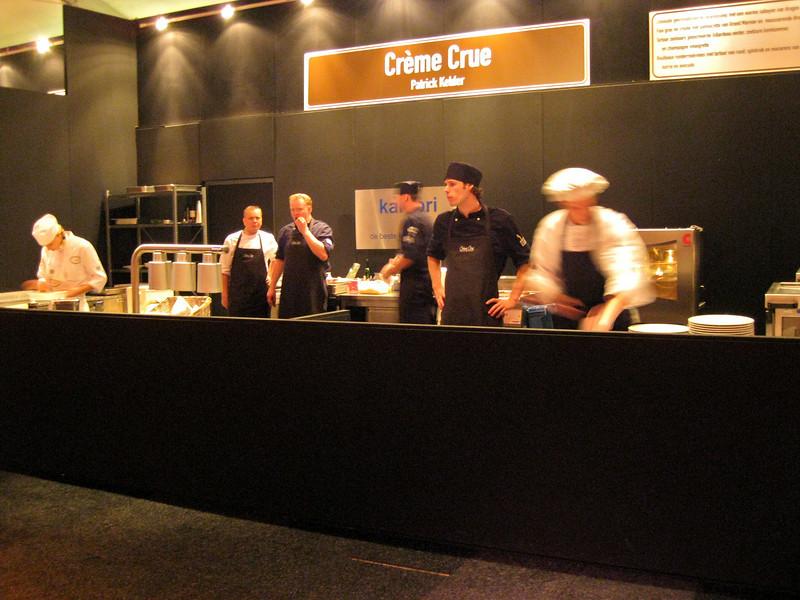 "Mobile kitchen for restaurant ""Crème Crue"""