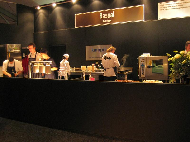 "Mobile kitchen for restaurant ""Basaal"""