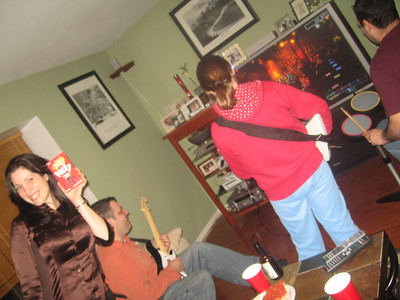 rock band...  now with more Pocky