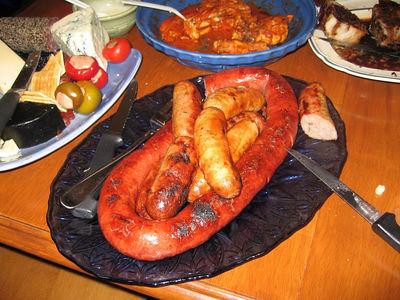 pete & bradF's kielbasa & sausage