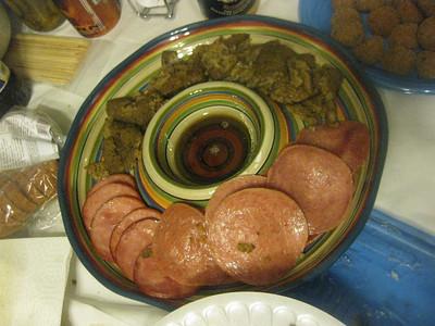 brad's breakfast meats platter