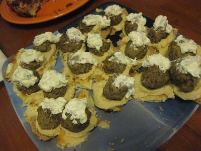 pete's gyro meatballs