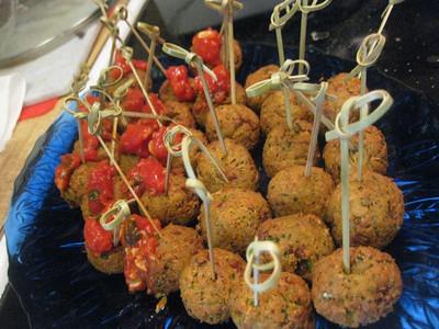jason's bacon falafel balls