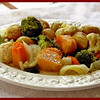 Steamed Medley of Seven Vegetables