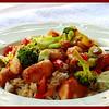 Teriyaki Chicken Strips & Stirfried Veg over Rice