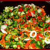 Teriyaki Chicken - Vegetables Cooking