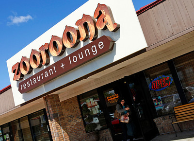 Zooroona restaurant & lounge, 1710 West Main Street, in Tiffany's Village shopping center in Kalamazoo, Mich. (Bradley S. Pines / CONTACT: bspines@gmail.com) 4/11/12