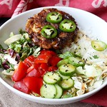 Crab Cake Buddha Bowl Recipe