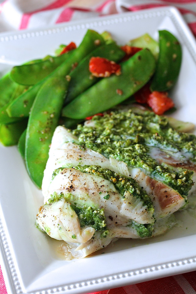 "This Kale and Feta Stuffed Cod is so moist and succulent. It is so easy to make, and is the perfectly easy ""company's coming"" dish."