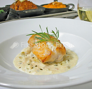 Halibut Potato Thyme Chowder