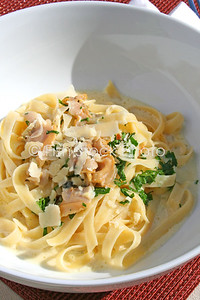 Fettuccini Clams white sauce
