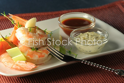 Shrimp Cocktail Remoulade