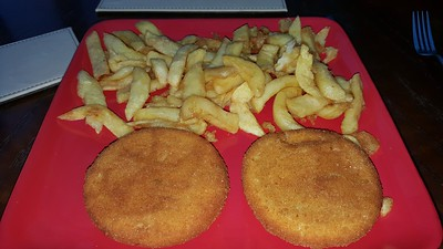 Fishcakes & Chips