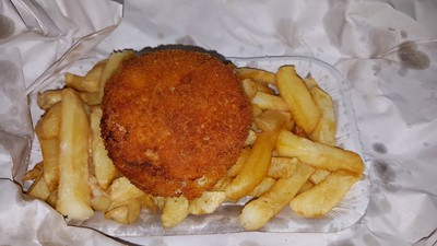 Fishcake & Chips