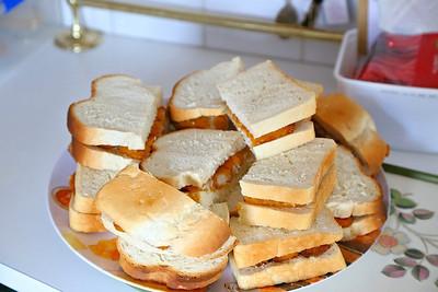 Fishfinger Sandwiches  14/12/13