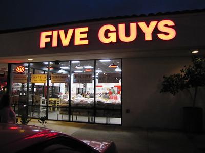 Five Guys Burger - Fullerton - 6/9/11
