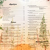 """One of the early menus.<br /> The Flagstaff House is celebrating 40-years.<br /> For more photos and a video of the restaurant, go to  <a href=""""http://www.dailycamera.com"""">http://www.dailycamera.com</a>.<br /> Cliff Grassmick / September 9, 2011"""