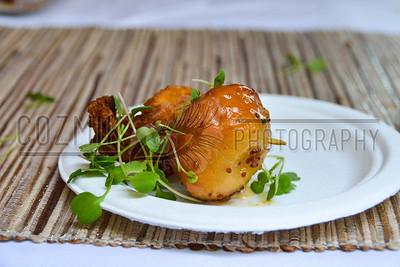 Fried Fish Nugget with Bacon-Fried Doughnut Hole - ZooFari 2013