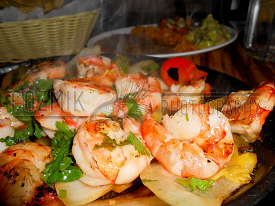 Shrimp Fajita Platter - Alero, Cleveland Park, DC