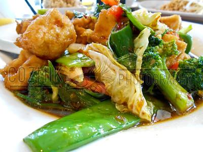 Kee Mao (Drunken Noodle) with Fried Bean Curd - Sala Thai, U Street, DC
