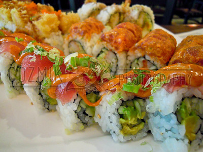Mountain Roll & Volcano Roll - Sushi Para, DC