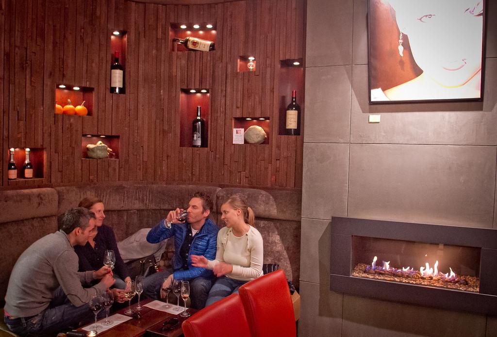 People enjoy wine at 1313 Main St. in Napa, Calif., is seen on Saturday, November 10th, 2012.