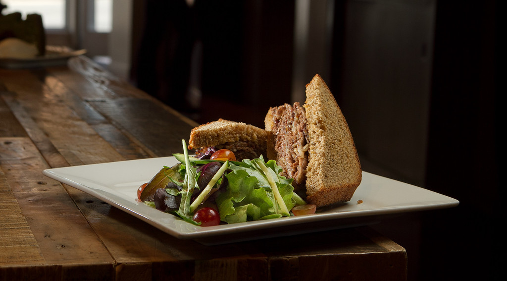 The Brisket sandwich at 903 Restaurant in San Francisco, Calif., is seen on Friday, May 25th, 2012.