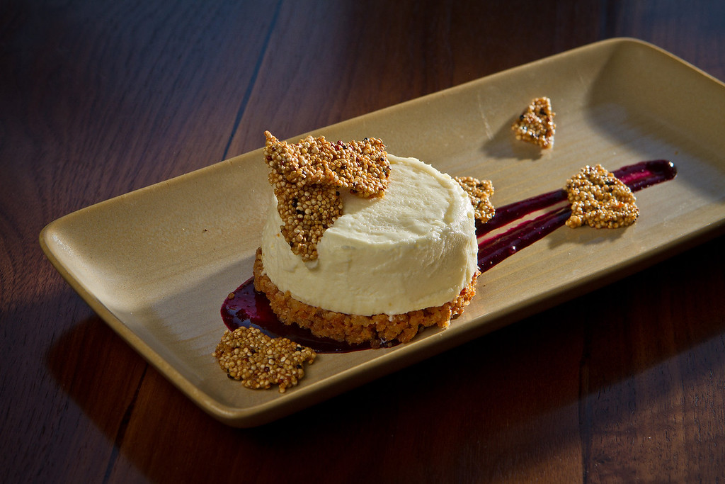 The Sour Cream Cheesecake at Abbot's Cellar in San Francisco, Calif., is seen on Thursday, Sept. 27th, 2012.