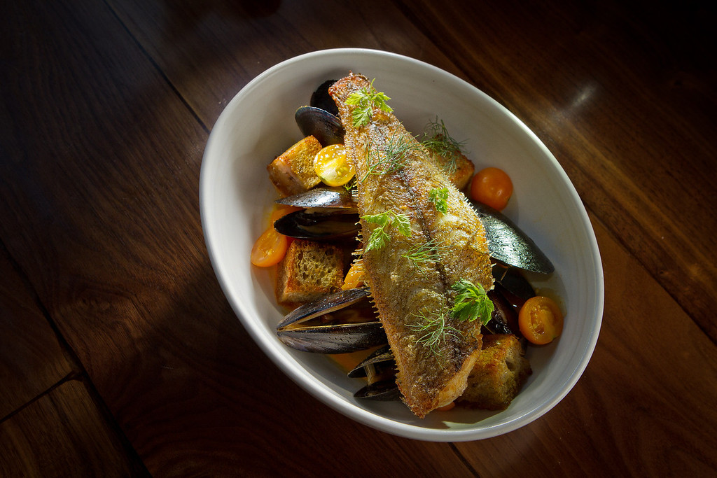 The Bouillabaisse at Abbot's Cellar in San Francisco, Calif., is seen on Thursday, Sept. 27th, 2012.