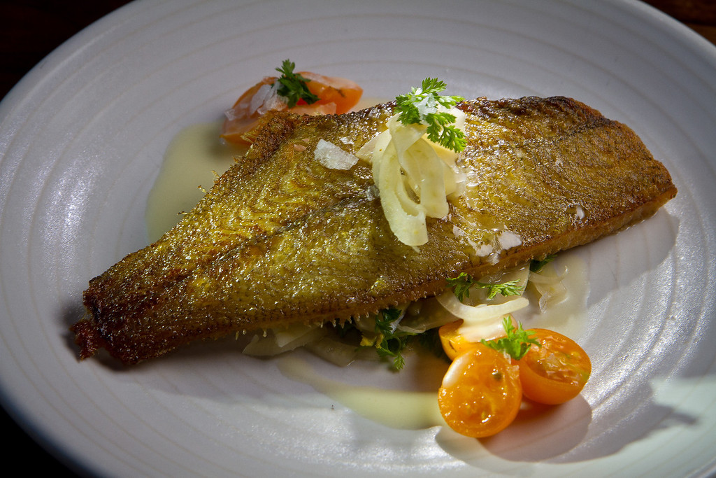 The Seared Sand Dabs at Abbot's Cellar in San Francisco, Calif., is seen on Thursday, Sept. 27th, 2012.
