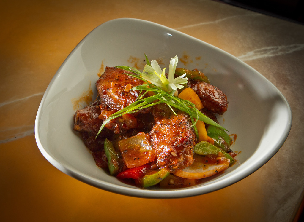 The Bombay Spiced Chicken Wings at Amber India in San Francisco, Calif.,  is seen on Saturday, December 17th,  2011.