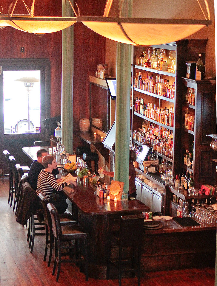 The bar at American Oak restaurant in Alameda, Calif., is seen on Tuesday,  August 30th, 2012.