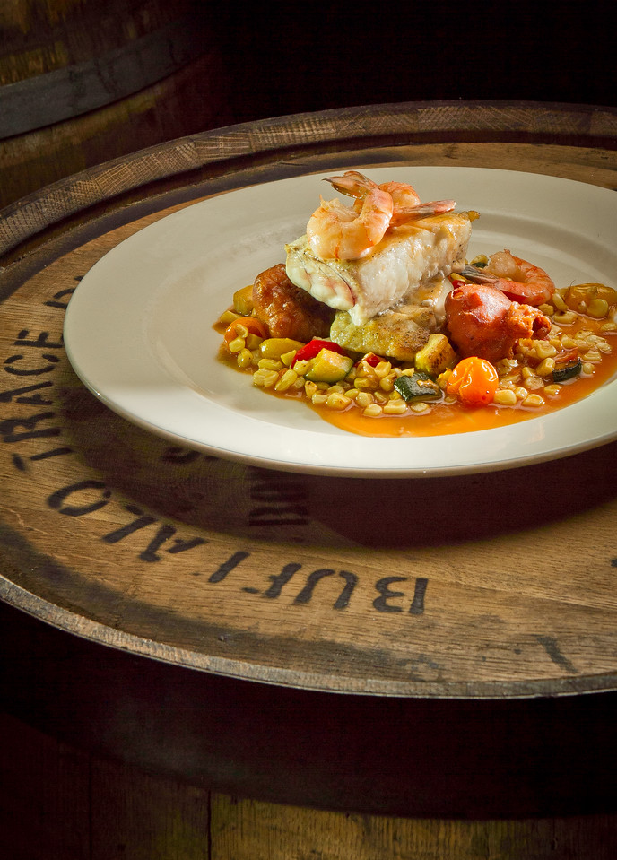 The Seared Local Halibut at American Oak restaurant in Alameda, Calif., is seen on Tuesday,  August 30th, 2012.