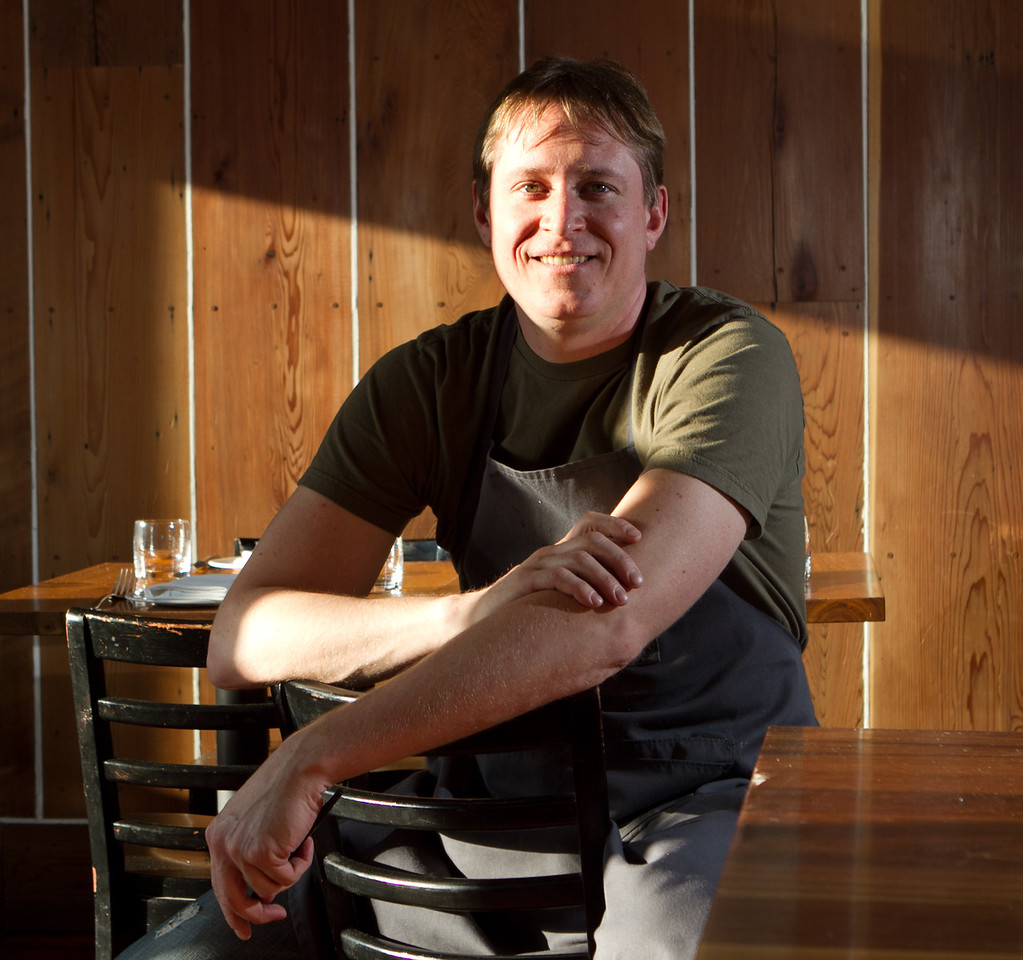 Chef Nick Balla at Bar Tartine in San Francisco, Calif., is seen on Thursday, March 8th, 2012.