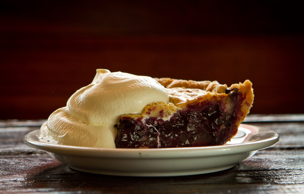 The Blueberry Pie at the Beachside Coffee Bar in San Francisco, Calif. is seen on March 29th, 2012.