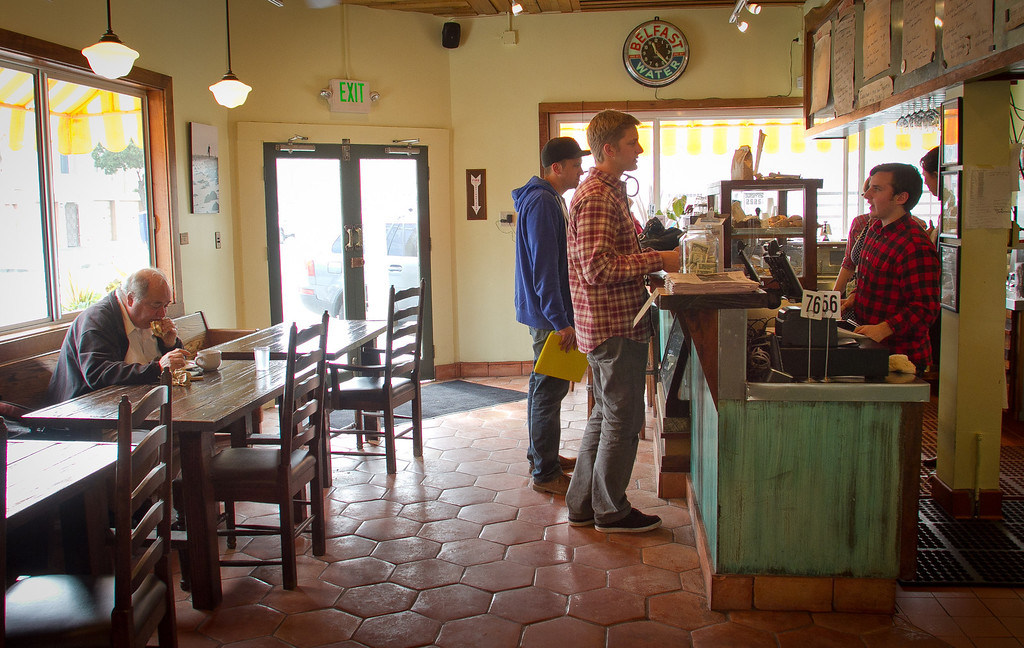The interior of the Beachside Coffee Bar in San Francisco, Calif., is seen on March 29th, 2012.