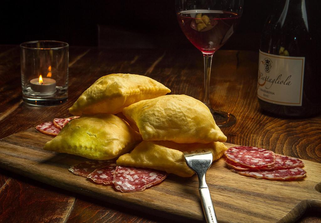 The Torta Fritta Emiliana at Borgo Italia in Oakland, Calif., is seen on Wednesday, November 21st, 2012.