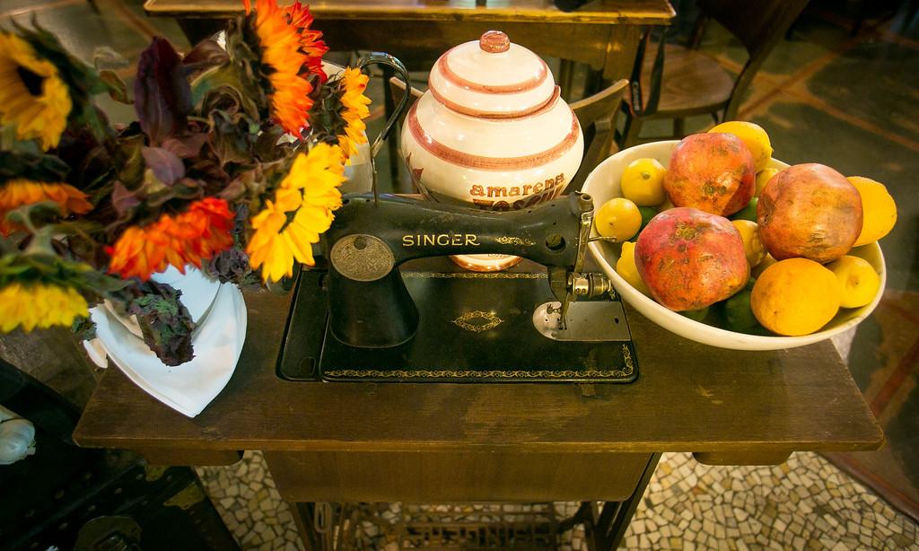 The interior of Borgo Italia in Oakland, Calif., is seen on Wednesday, November 21st, 2012.