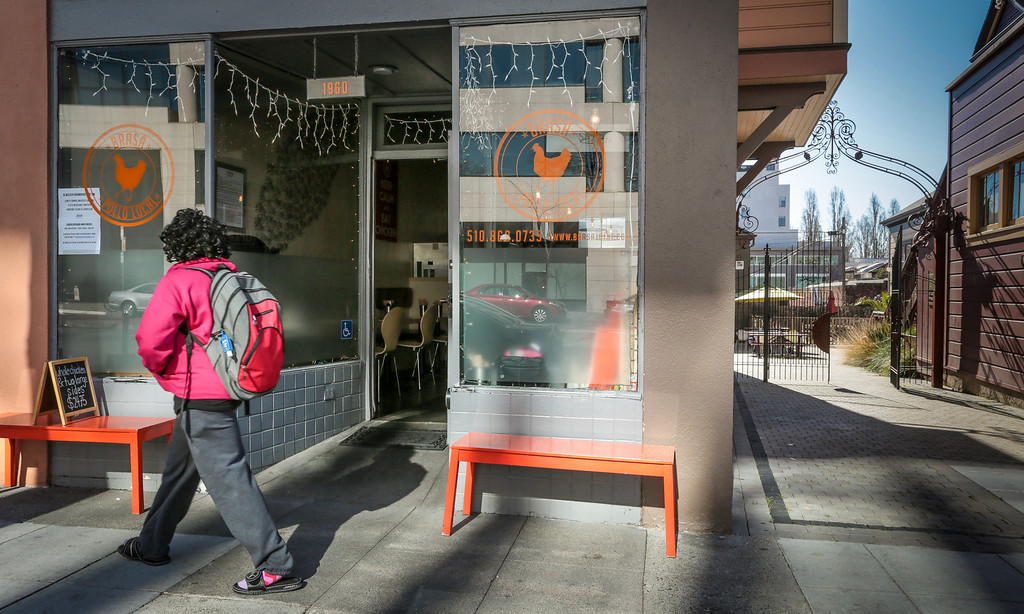 The exterior of Brasa restaurant in Berkeley, Calif.  is seen on Saturday, January 26th, 2013.