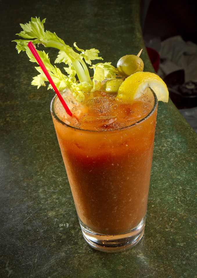 The Bloody Mary at the Broken Drum Brewery in San Rafael, Calif., is seen on Wednesday, November 7th, 2012.
