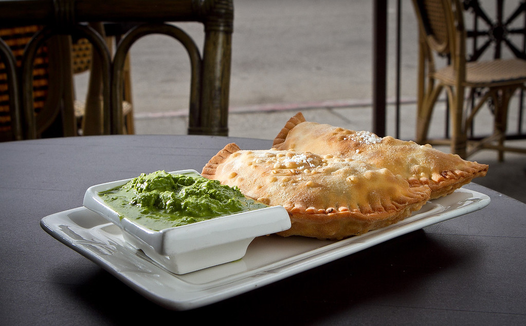 The Picadillo Empanadas at Cana Cafe in Oakland, Calif., are seen on Friday, June 22nd, 2012.