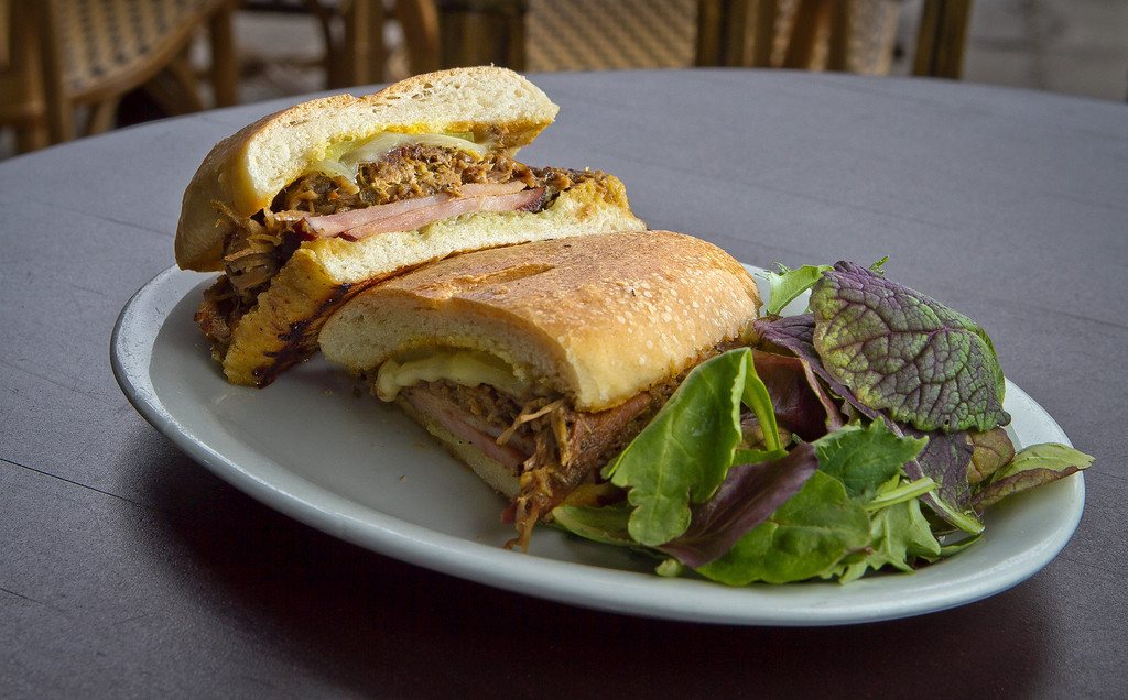 The Cubano Sandwich at Cana Cafe in Oakland, Calif., is seen on Friday, June 22nd, 2012.